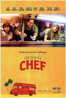Movie poster for Chef