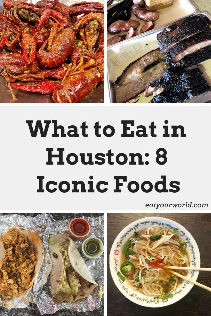You don't want to miss these 8 iconic dishes in Houston, Texas