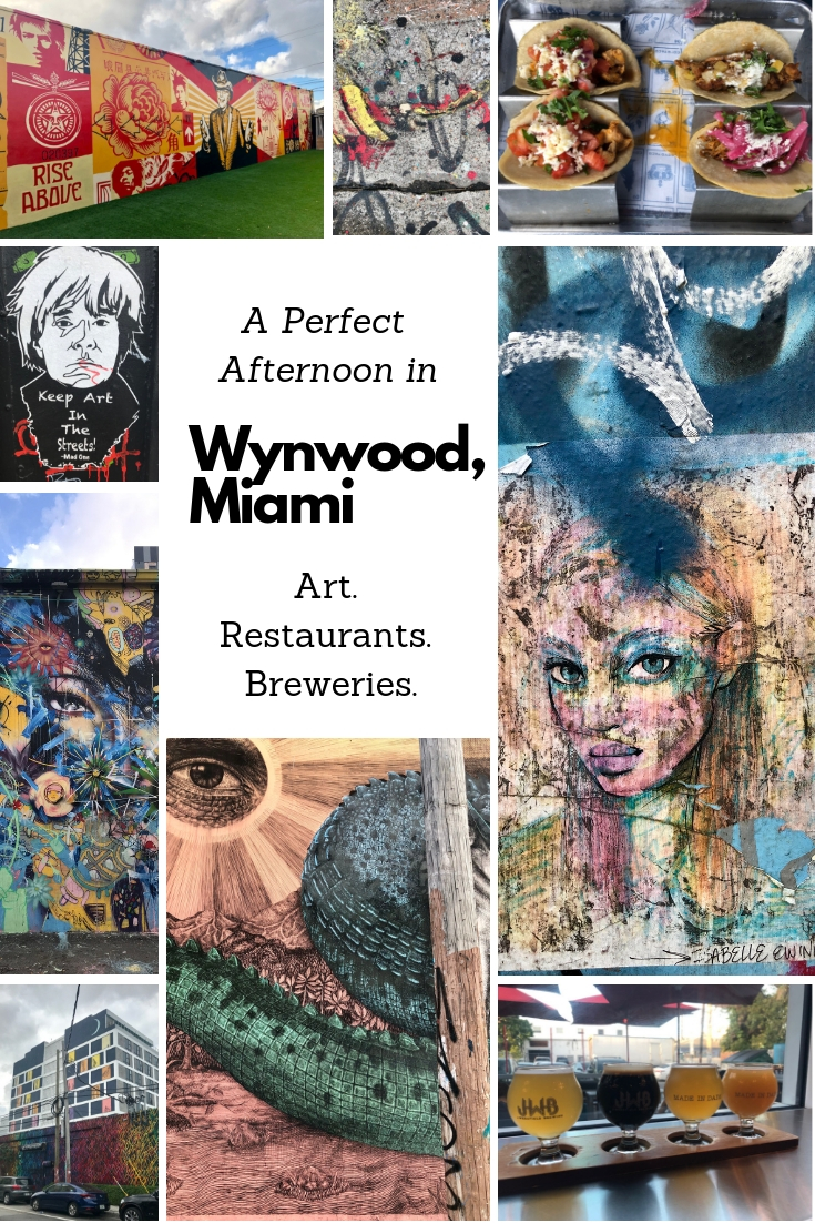 What to do in Wynwood, Miami: an art, restaurant and brewery tour.