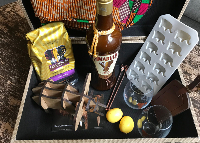 Amarula at-home safari package