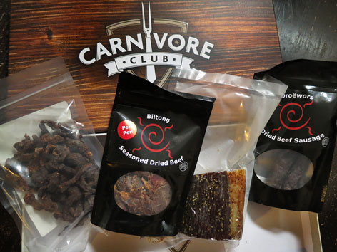 Carnivore Club subscription box contents