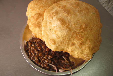 Chole Bhature from Delhi, India