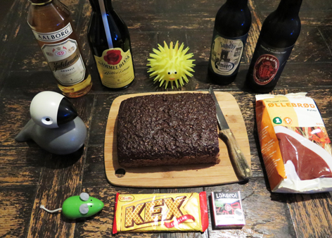 Bitters, rye bread, Kay Bojeson songbird and other souvenirs from Copenhagen