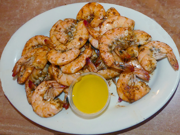 Shrimp from Diamond Shoals in Outer Banks, NC