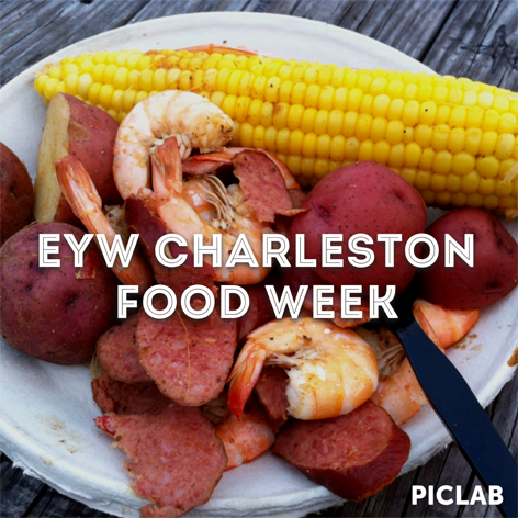 Frogmore stew in honor of Eat Your World's Charleston Food Week