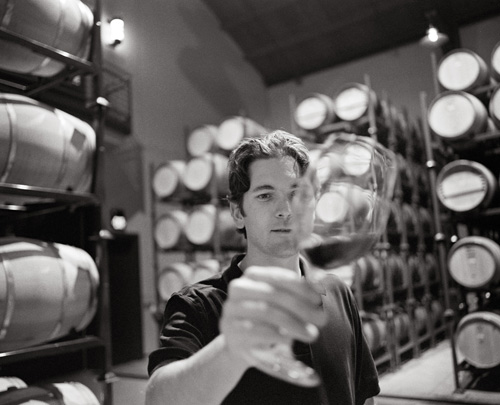 Mario Monticelli of Trinchero Estate, a Napa Valley winemaker