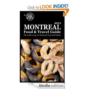 Montreal Food and Travel Guide on Kindle