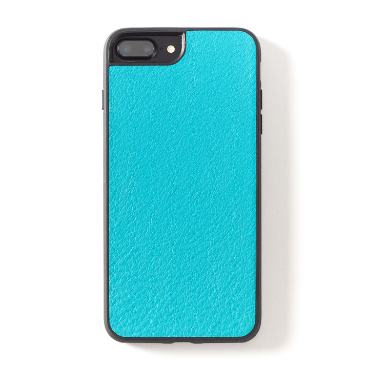 Leatherology iPhone case in turquoise