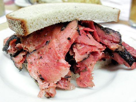 Pastrami on rye at Katz's Deli, NYC