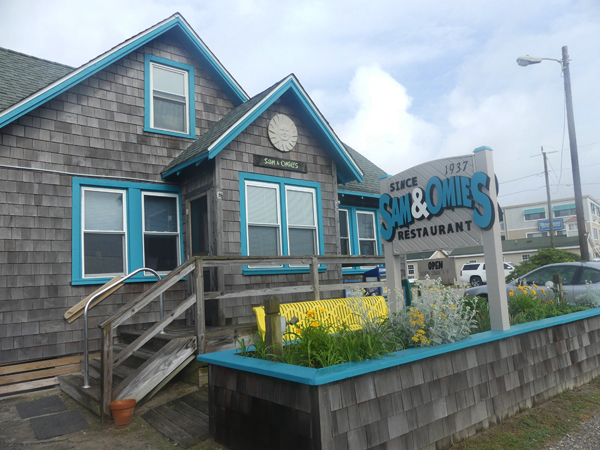 Sam & Omie's exterior in Outer Banks, NC