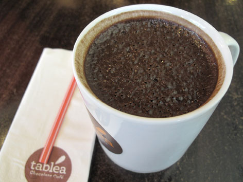 Sikwate, a hot chocolate drink from Cebu, the Philippines