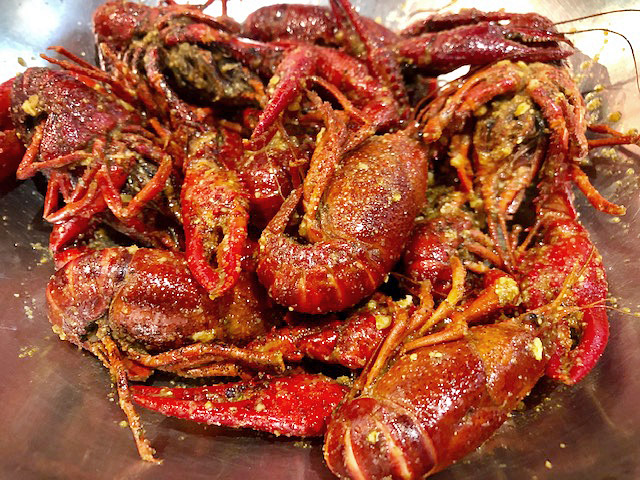 Vietnamese-Cajun crawfish in Houston