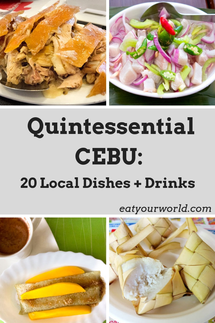 What to eat in Cebu: a food guide to the Philippines. Find 20 favorite Cebuano foods in our destination guide to one of the Philippines' best eating destinations.