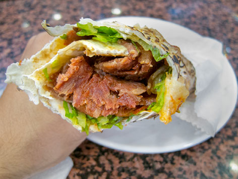 Doner Kebab Kebap Istanbul Turkey Local Food Guide