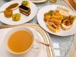Afternoon tea with savories and sandwiches from Imperial Hotel in Delhi, India.