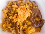 Frito pie from the Tamale House No. 3 in Austin, Texas.